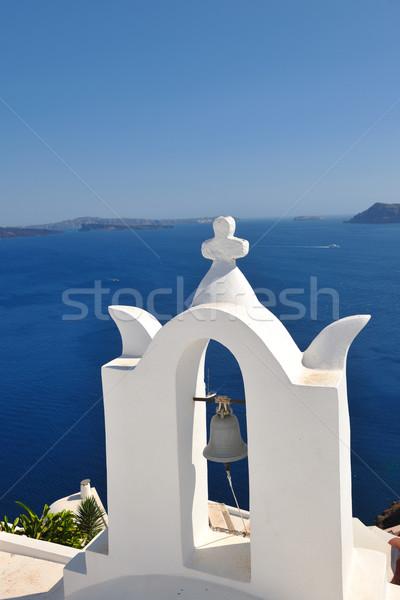 Grecia santorini bella isola casa Foto d'archivio © dotshock