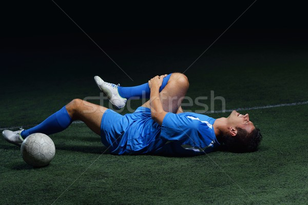 Football blessure footballeur douleur accident Photo stock © dotshock