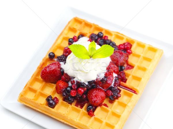 fruit wafel Stock photo © dotshock