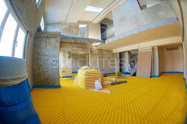 underfloor heating Stock photo © dotshock