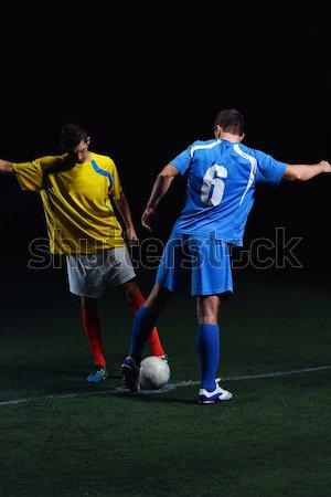 soccer player Stock photo © dotshock