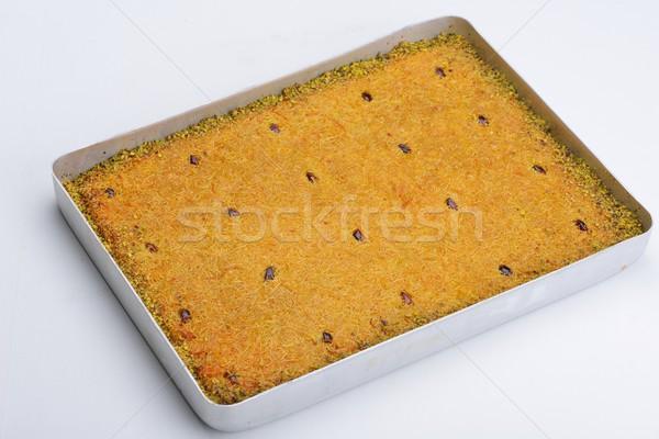 Turkish pastry kadaif Stock photo © dotshock
