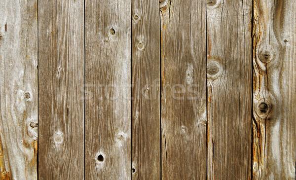 Vecchio legno tavolo in legno piano albero Foto d'archivio © drizzd