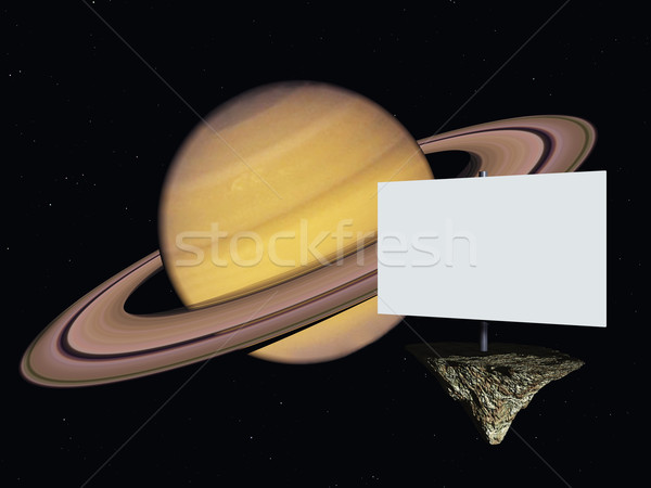 saturn Stock photo © drizzd