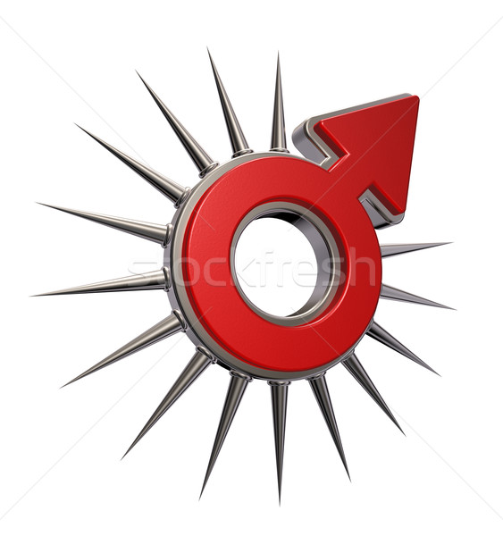 male symbol Stock photo © drizzd