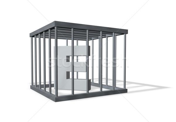 big E in prison Stock photo © drizzd