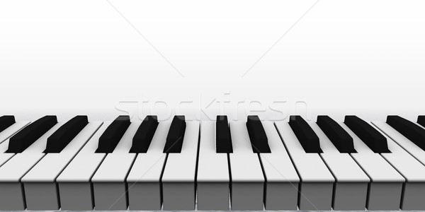 piano Stock photo © drizzd