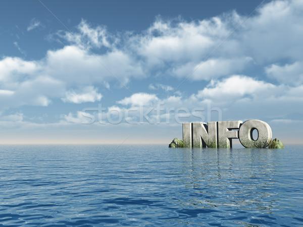info Stock photo © drizzd