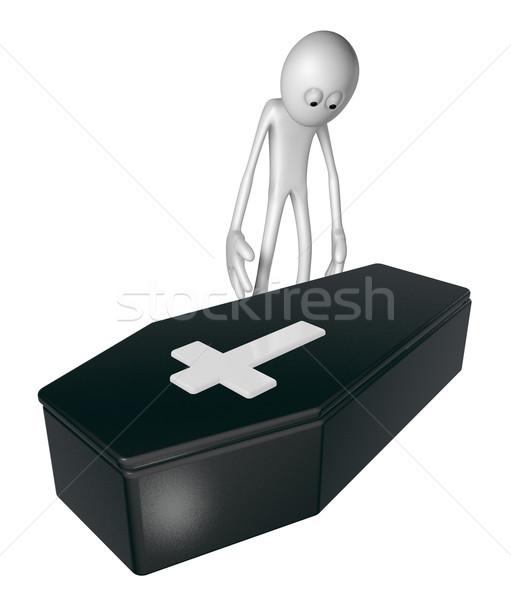 coffin Stock photo © drizzd