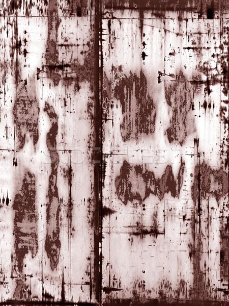 Koszos mocskos rozsdás grunge illusztráció művészet Stock fotó © drizzd
