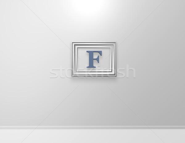 f art Stock photo © drizzd
