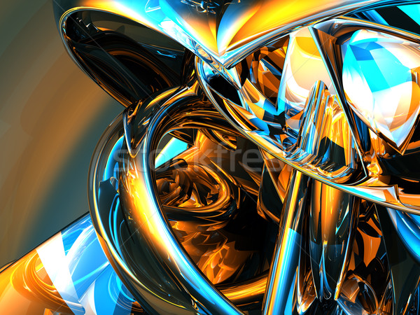 abstract shiny background Stock photo © drizzd