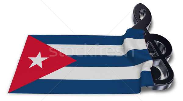 Simge bayrak 3D sanat mektup Stok fotoğraf © drizzd