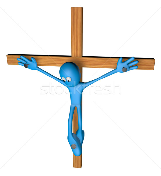 crucifixion Stock photo © drizzd