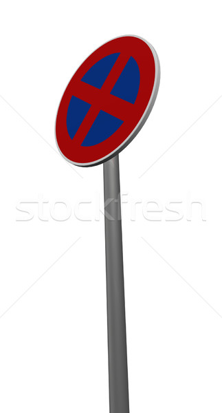 roadsign no parking Stock photo © drizzd