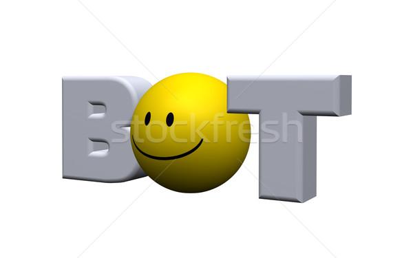 internet bot Stock photo © drizzd