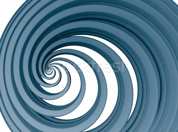 blue swirl Stock photo © drizzd