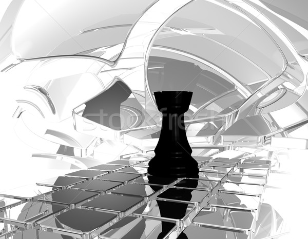 chess rook Stock photo © drizzd