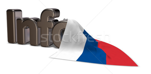 russian info Stock photo © drizzd