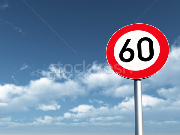 speed limit Stock photo © drizzd