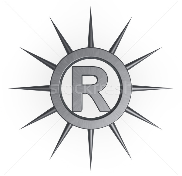 registered trademark Stock photo © drizzd