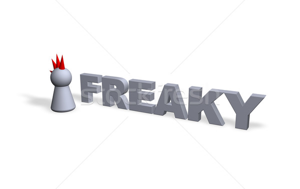 freaky Stock photo © drizzd