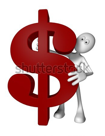 dollar symbol Stock photo © drizzd