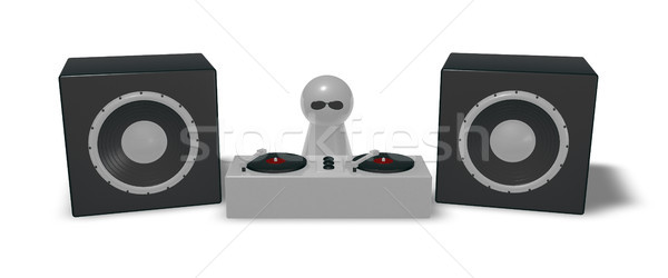 disc jockey Stock photo © drizzd