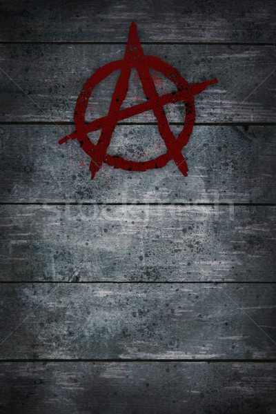 anarchy symbol Stock photo © drizzd