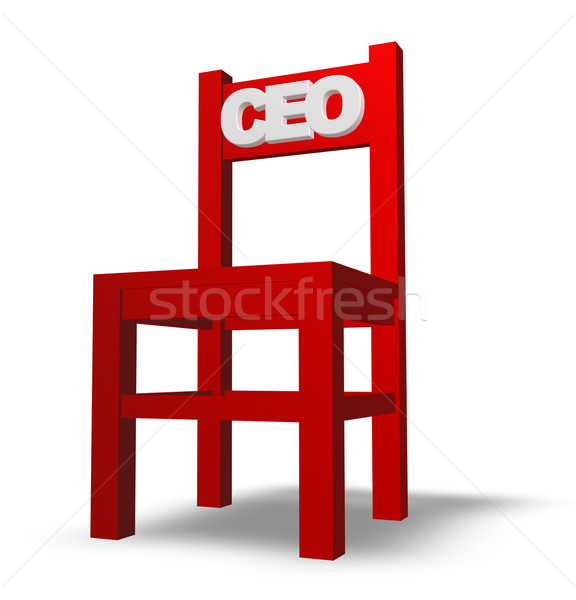 ceo chair Stock photo © drizzd