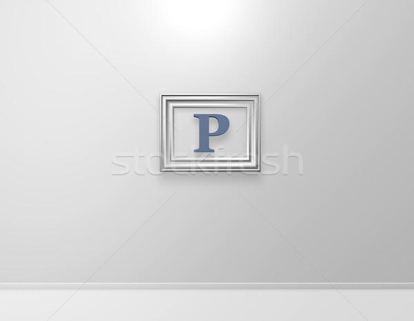 p art Stock photo © drizzd