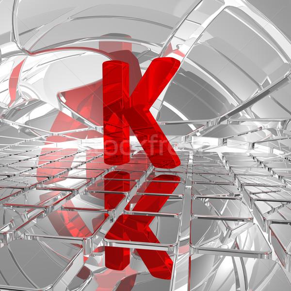 k in futuristic space Stock photo © drizzd