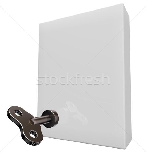 mounting box Stock photo © drizzd