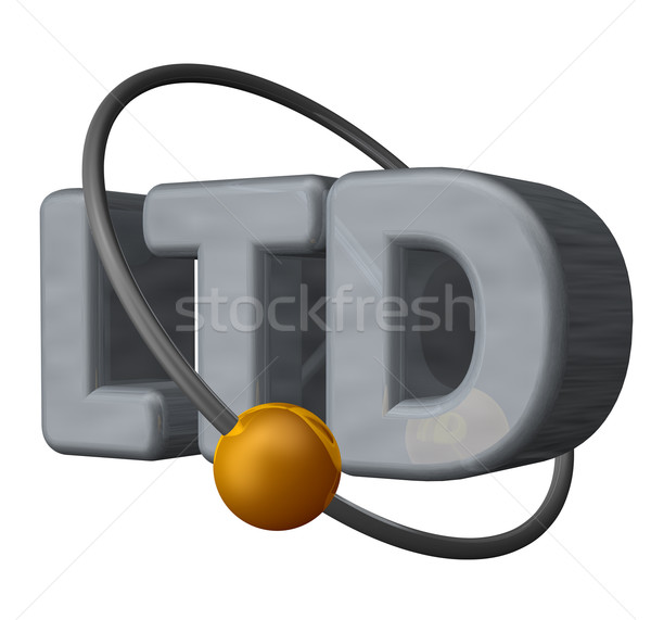ltd Stock photo © drizzd