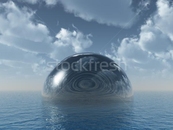 glass dome Stock photo © drizzd