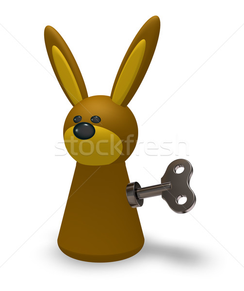 wind up bunny Stock photo © drizzd