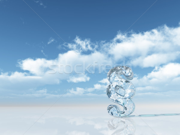 Stock photo: icecold law