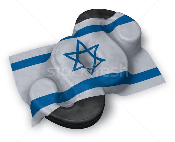 Paragraf simge bayrak 3D Stok fotoğraf © drizzd