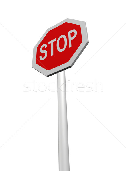 stop Stock photo © drizzd