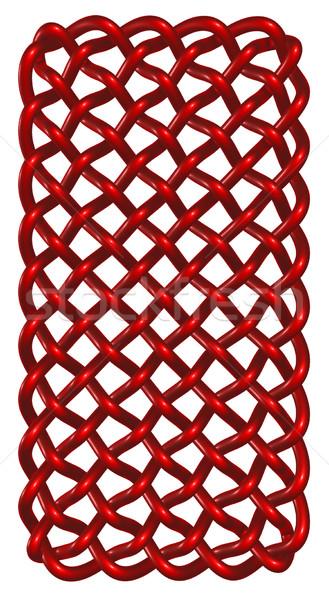 кельтской белый 3d иллюстрации культура украшение орнамент Сток-фото © drizzd