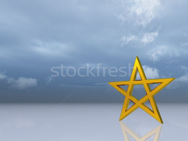 pentacle Stock photo © drizzd