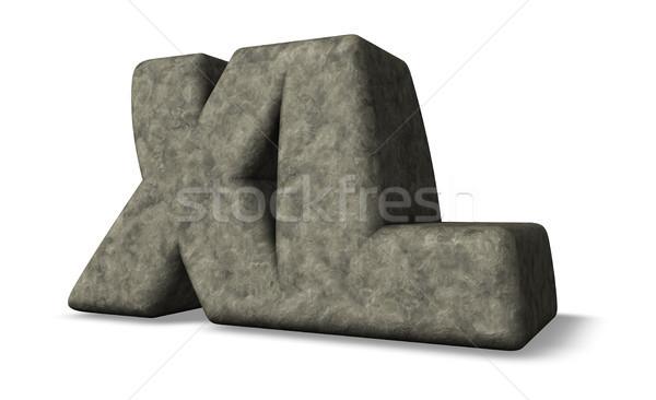 xl stone Stock photo © drizzd