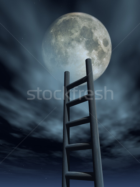 luna Stock photo © drizzd
