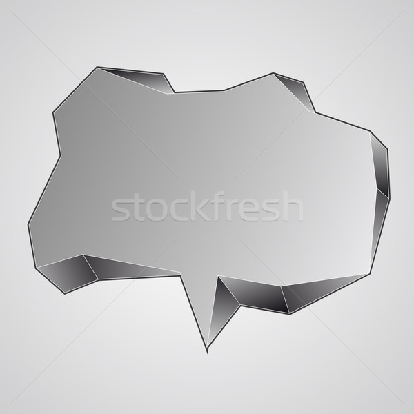 speech bubble Stock photo © drizzd
