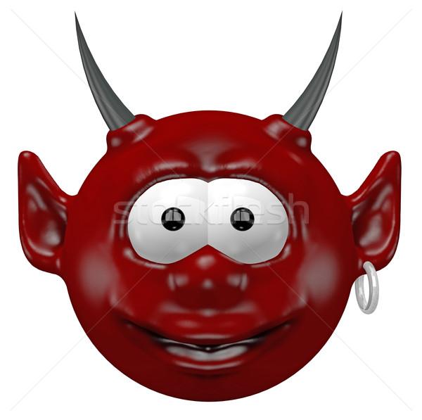 devil head Stock photo © drizzd