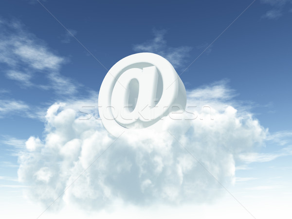 heavenly email Stock photo © drizzd