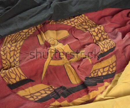 Demokratyczny republika banderą kraju kultury gruntów Zdjęcia stock © drizzd