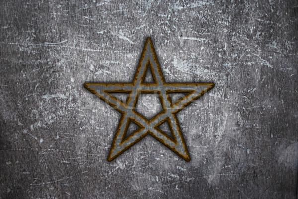 pentagram Stock photo © drizzd