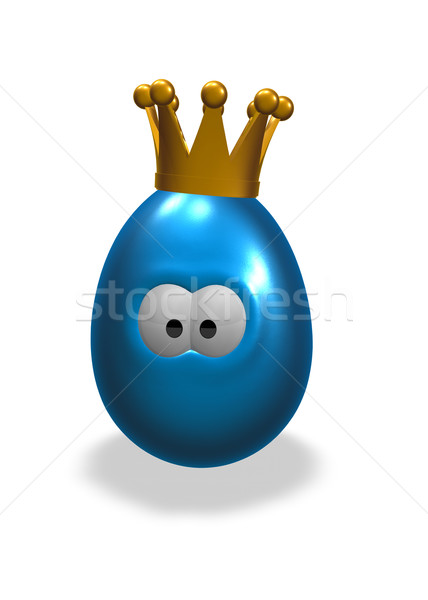 egg with crown Stock photo © drizzd