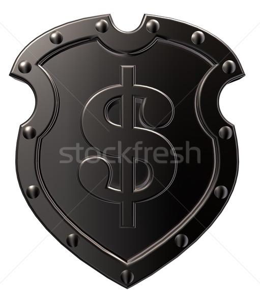 dollar shield Stock photo © drizzd